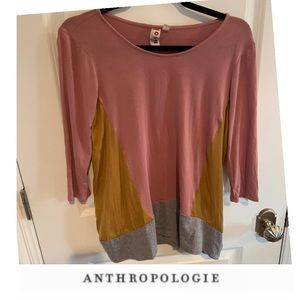Anthropologie Dolan Colorblock Tee